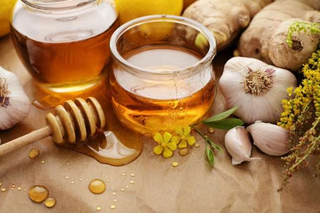 health benefits of garlic and honey mixture